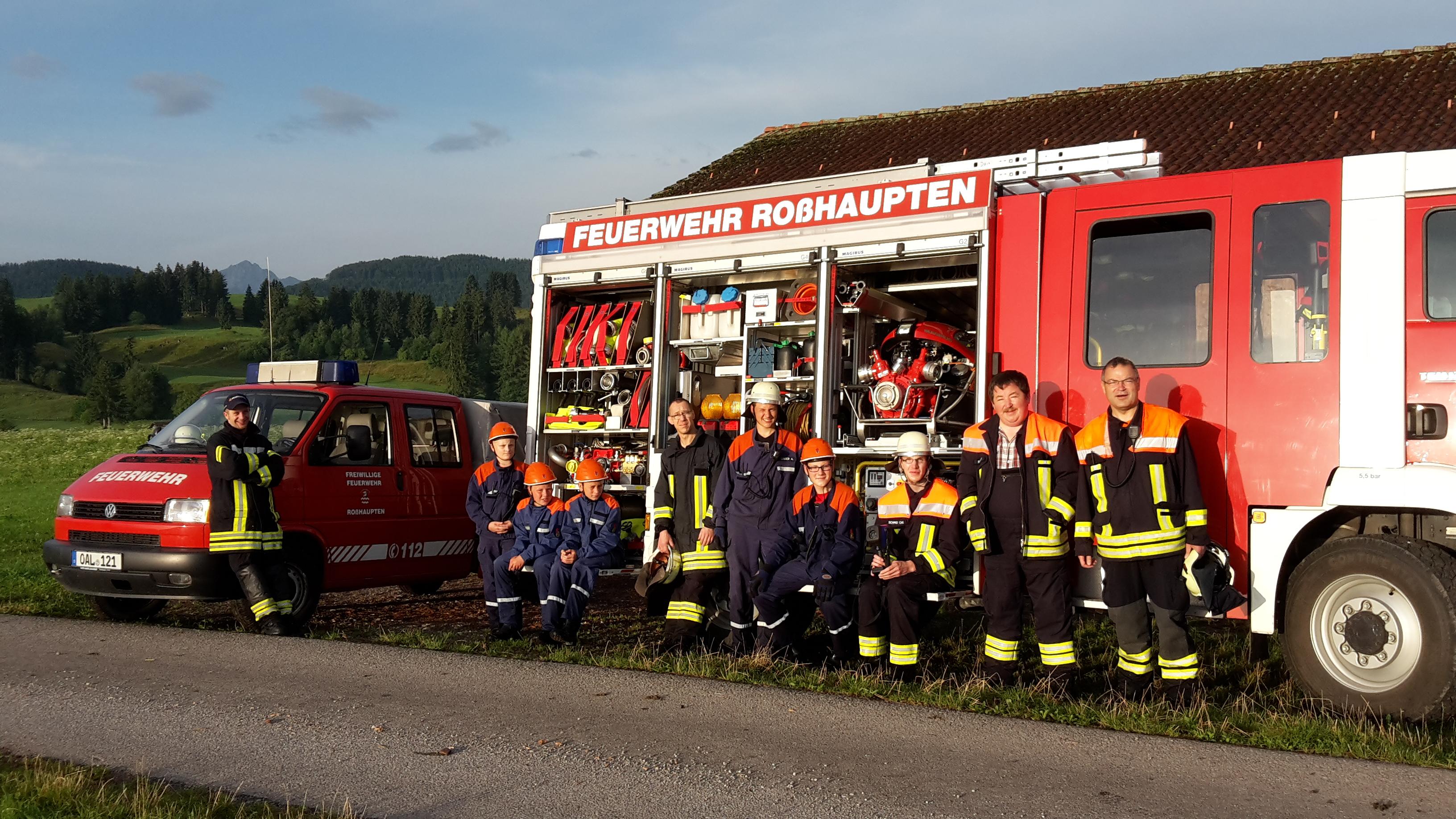 Klettergurt Feuerwehr : Freiwillige feuerwehr roßhaupten e v unsere jugendfeuerwehr